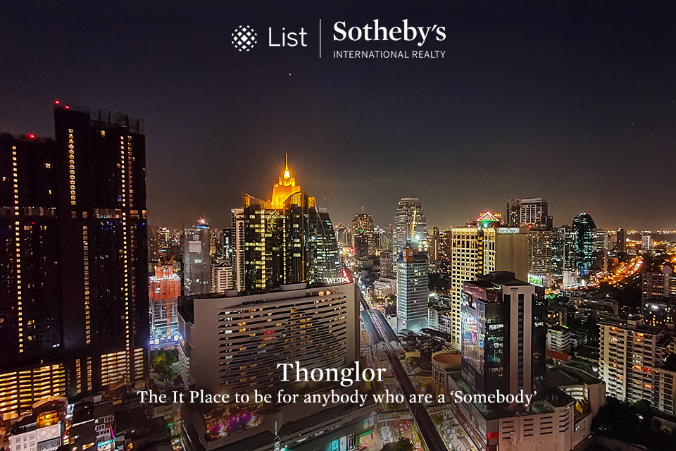 Thonglor - The It-Place to be for anybody who are a 'Somebody'