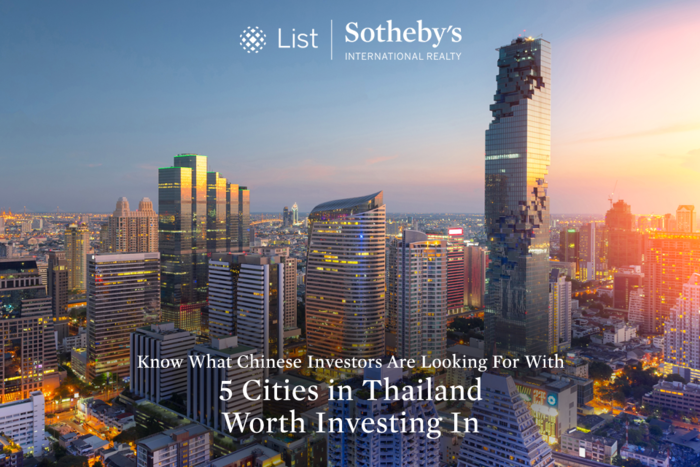 Know What Chinese Investors Are Looking For With 5 Cities in Thailand Worth Investing In