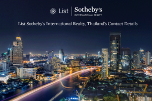 List Sotheby's International Realty, Thailand's Contact Details